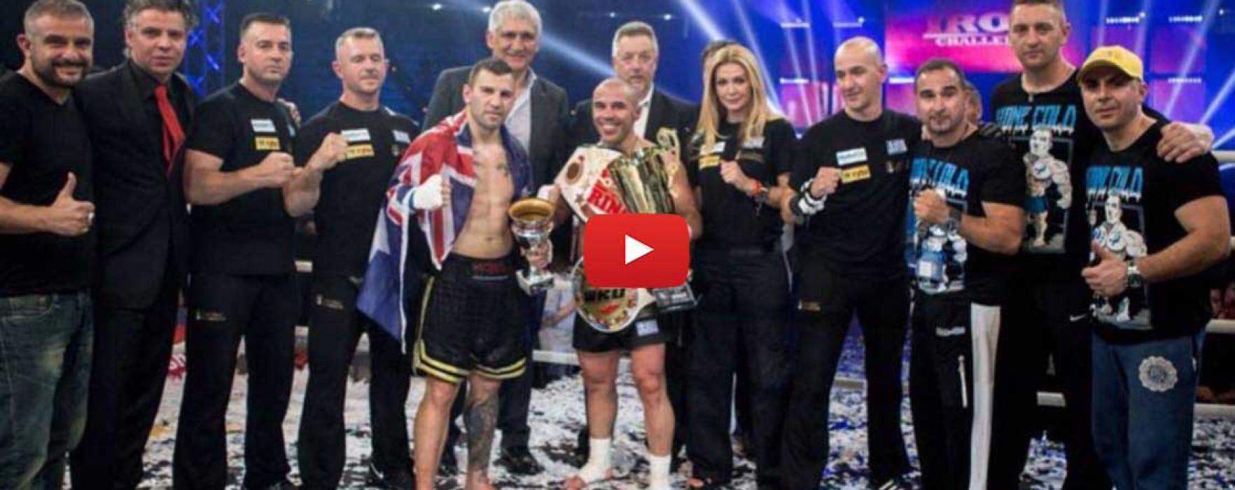 Video: Mike Zambidis vs Steve Moxon – Iron Challenge 2015 – Greece 27/06/2015
