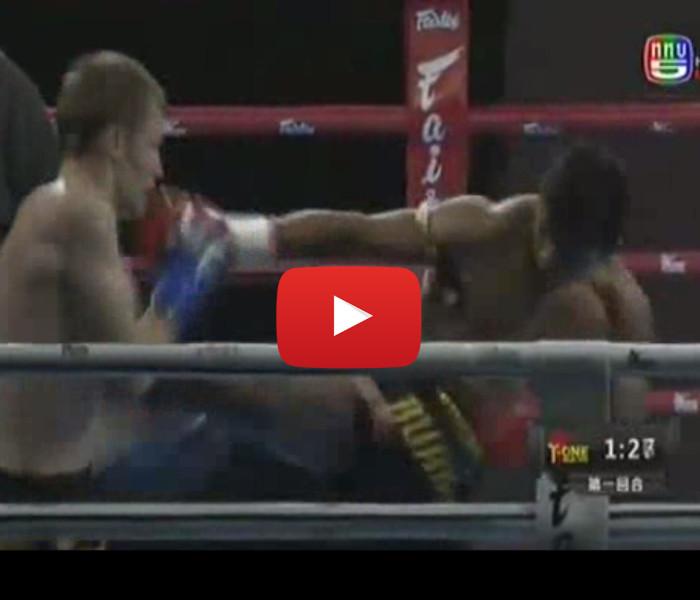 Video: Buakaw vs Artem, Yodsanklai vs Victor, Seksan vs Andrei / T-ONE China 01-06-15