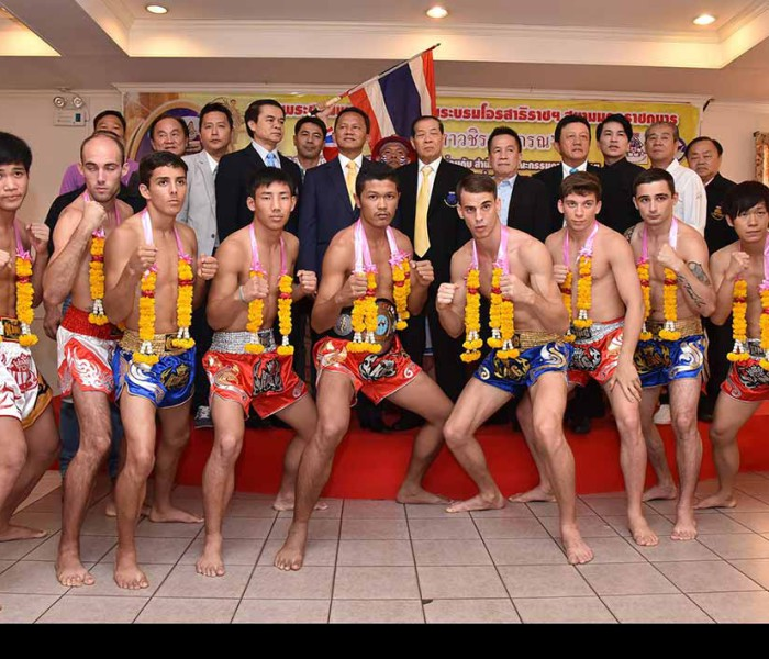 Mathias e Carlos Muay Farang alla Prince Cup – WPMF a Bangkok