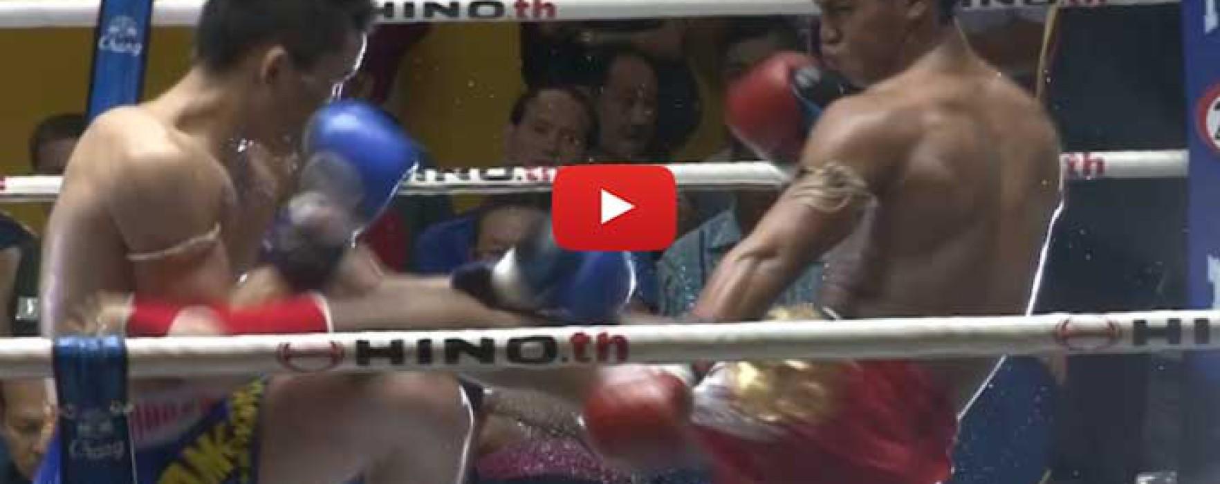 Video: Petphanomrung vs Kwankhao and Morakod vs Sakpetch – Lumpinee – 10/7/15
