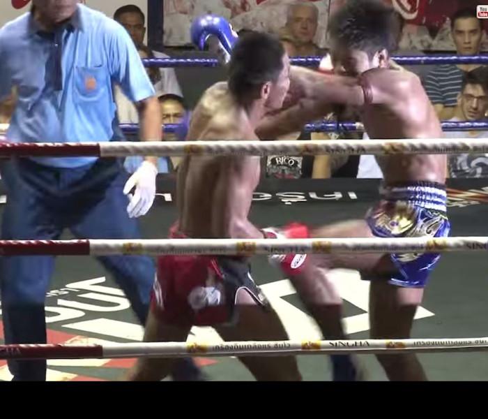 Video: Thanonchai vs Muangthai &  Pakorn vs Denpanom – Rajadamnern Stadium 02/07/2015