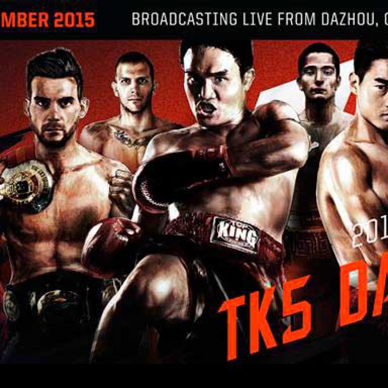 Card: Kem, Thongchai, Aikpracha, Berneung, Apisak, Meoni etc at TopKing WS 5 / Kunlun Fight 30