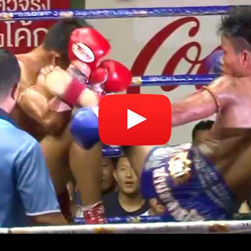 Video: Petboonsong Petjinda vs Sakpet FighterMuayThai – Rajadamnern Stadium – 24/08/2015