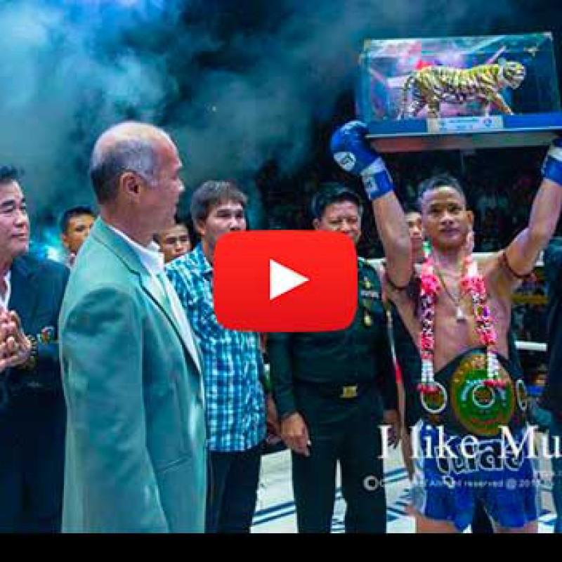 Video: Yodphet Pangkongprab Vs Wanmechok Phuhongtong – Channel 7 Poon Suea Tournament Final