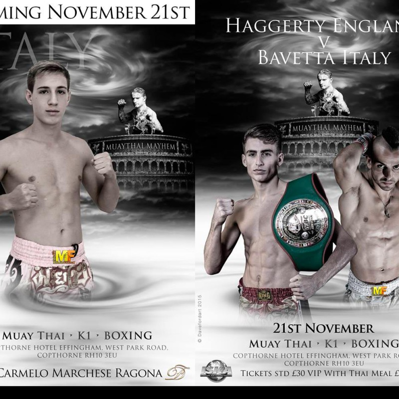 'Muay Thai May Hem' on 21st November 2015 at Crawley, UK