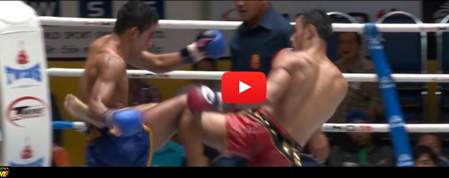 Video: Sam-A vs Kasuek – Lumpinee Stadium – Bangkok -15/09/2015