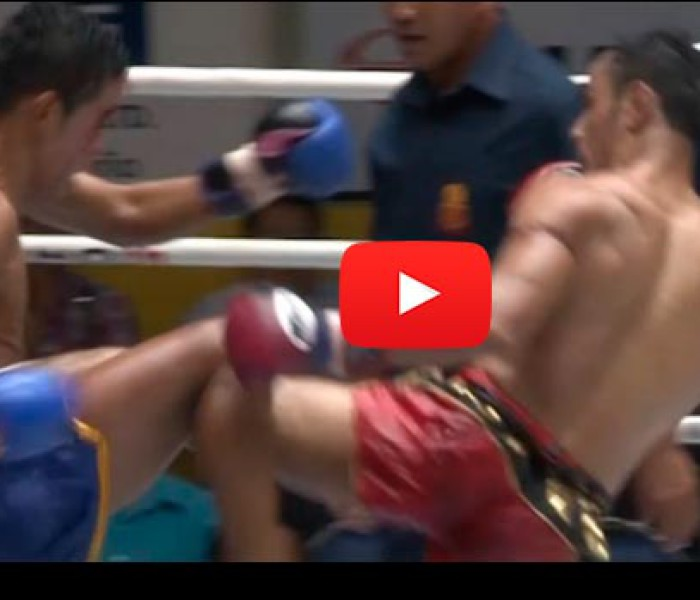 Video: Sam-A vs Kasuek – Lumpinee Stadium – Bangkok -15/09/2015