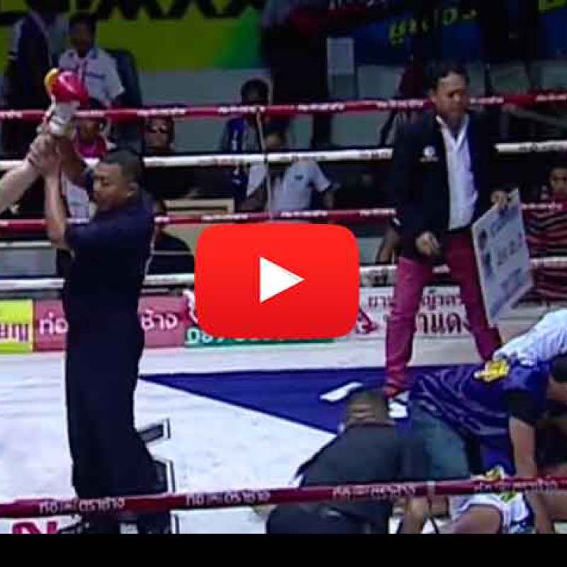 Video: Raphael Bohic vs Navi EagleMuayThai – Omnoi Stadium – 03/10/2015