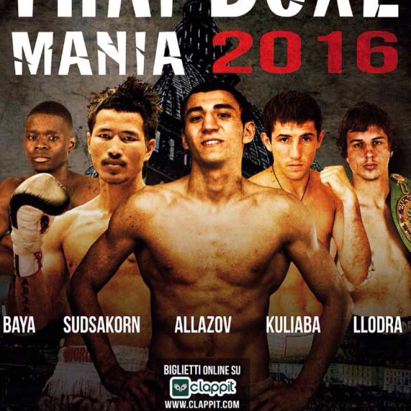 Results: Thai Boxe Mania 2016