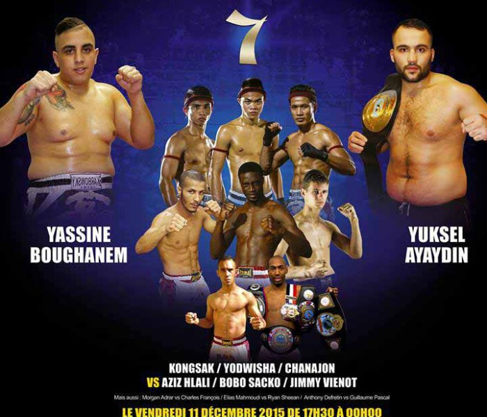 Card: Kongsak, Yodwicha, Chanajon ecc at Best of Siam 7 – France – 11th December 2015
