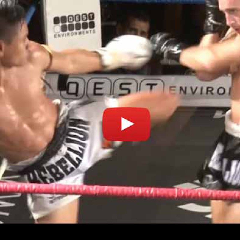 Video: Sam Bark vs Tum, Rebellion Muay Thai – Australia – 28/11/2015