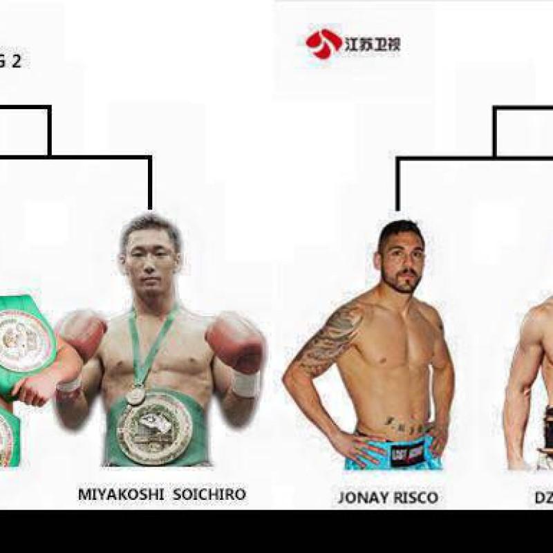 Card: Dzhaniev, Superbon, Zuev, Miyakoshi, Risco etc at Kunlun Fight 38 – Pattaya – 21/02/2016