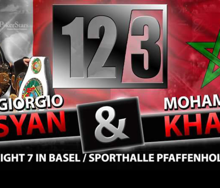 Flash News: Giorgio Petrosyan vs Mohamed Khamal – SuperPro Fight Night 7 – Basel – 12/03/2016