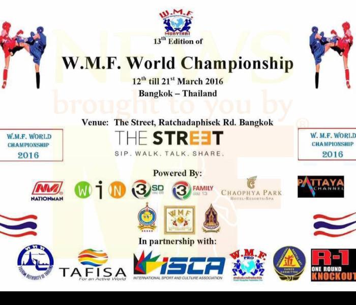 Info: WMF Muay Thai 2016