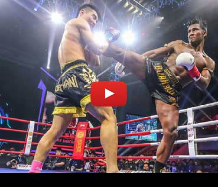 Video: Buakaw vs Kong Lingfeng – Kunlun Fight 39 – 20/03/2016