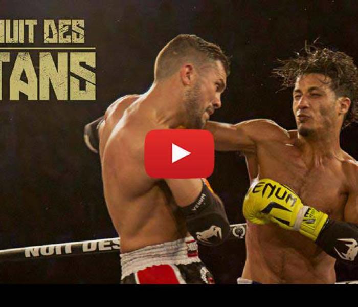 Video: Fabio Pinca vs Azize Hlali, Vienot vs Souane, Meksen vs Panu – Nuit des Titans 2016