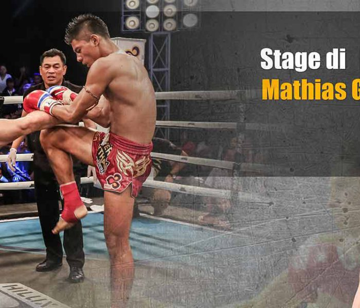 (English) Curiosity: Mathias 7 Muay Thai seminar in Sardinia on 12th June 2016