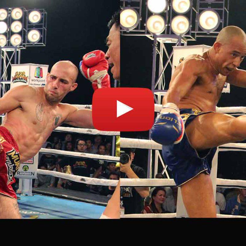 Videos: Carlos Coello, Christian Zahe, Yukiya Nakamura etc – Super Muay Thai – 24th April 2016