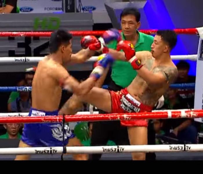 Video: Pakorn PKSaenchai vs Khai Whan Lek Tor. Luk Song – OneSongchai – ThairathTV – 02/04/2016