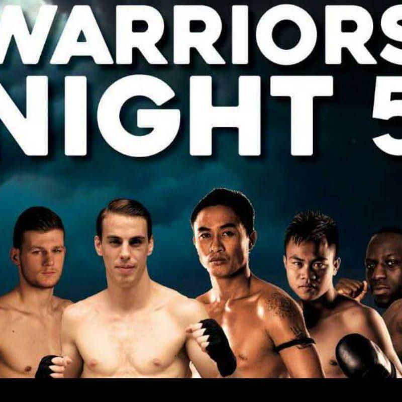 Card: Warriors Night 5 featuring Yodwicha, Panom, Vienot, Beausejour, Adrien Rubis etc | Warriors Night 5 | Paris | 11 June 2016