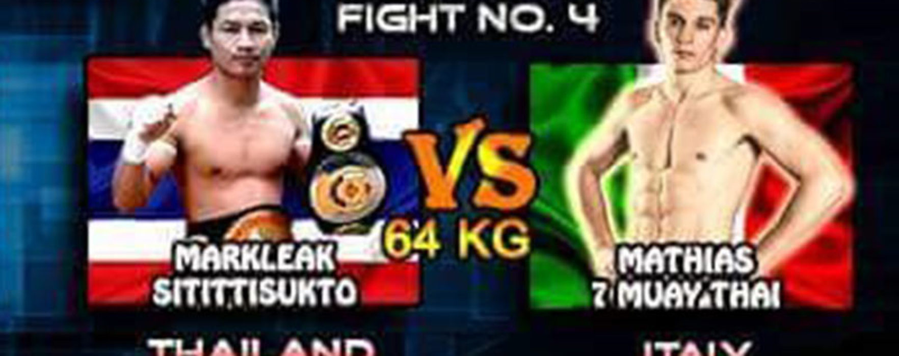 (English) Flash News: Naruto Banchamek forfaits, new opponent for Mathias Gallo Cassarino at Super Muay Thai
