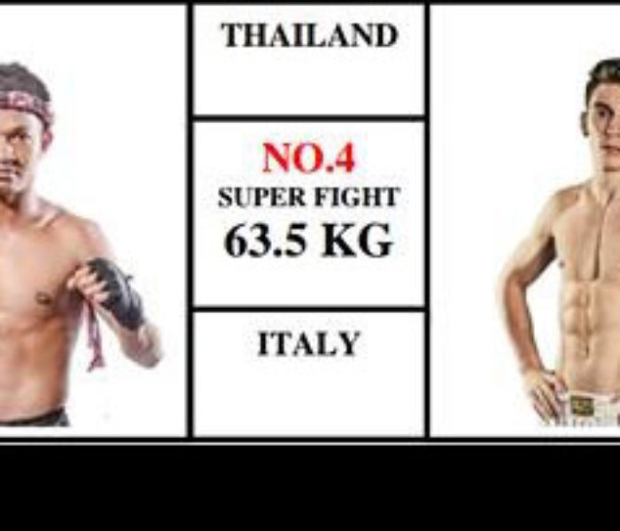 Card / Steaming: Mathias Gallo Cassarino vs Naruto Banchamek – Super Muay Thai – 29/05/16