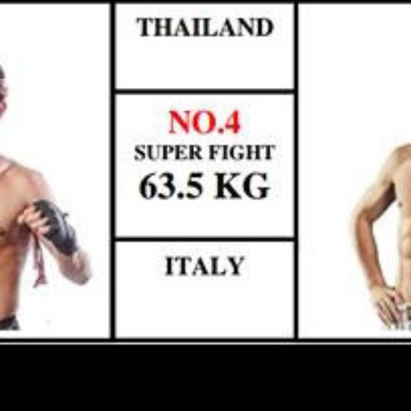 Card / Steaming: Mathias Gallo Cassarino vs Naruto Banchamek – Super Muay Thai – 29/05/16