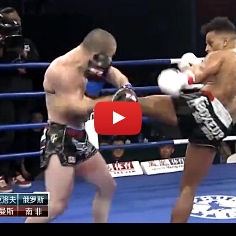 Video: Dzhabar Askerov vs Warren Stevelmans and Superbon Banchamek at Kunlun Fight 40 – 25th March 2016