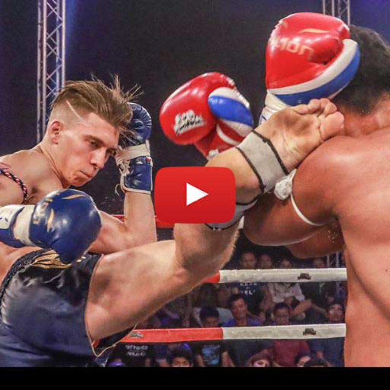 Video: Mathias Gallo Cassarino vs Markleak Sittisukto – Super Muay Thai – 29/05/2016