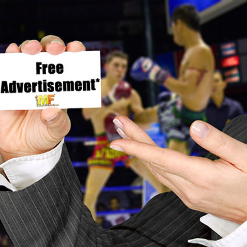 Advertise on Muay Farang Network