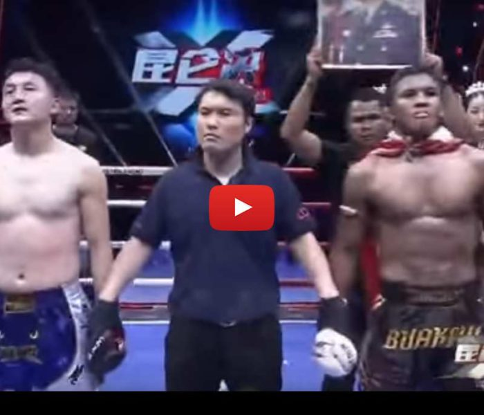 Video:  Buakaw vs Weihao, Kyshenko vs Oliveira, Jomthong Chuwattana vs Gu Hui – Kunlun Fight 45 – 05/06/2016