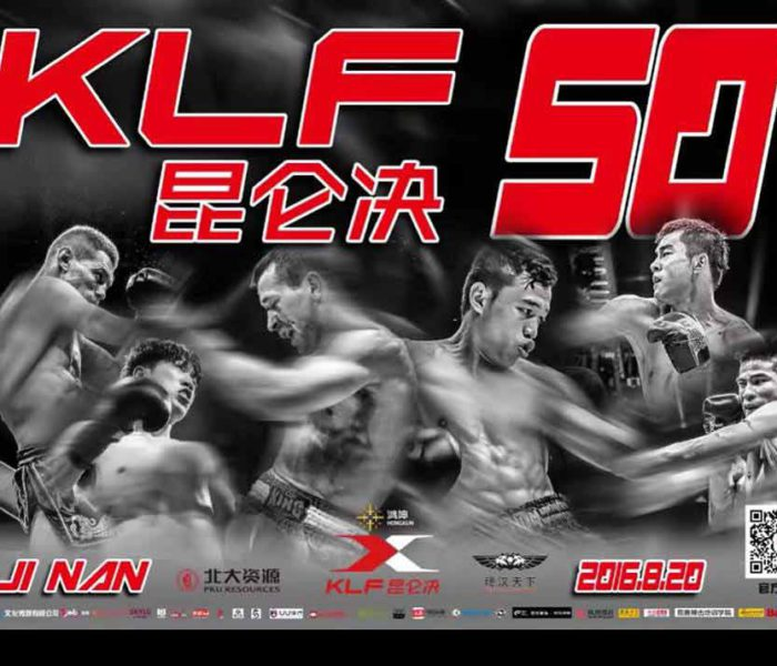Card: Sitthichai, Kulebin, Jomthong, Groenhart etc – Kunlun Fight 50 – China – 20/08/2016