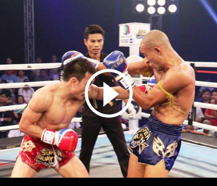 (English) Video: Christian Zahe vs Changpuak Jetsada Pongtong – Super Muay Thai Marathon – 31st July 2016