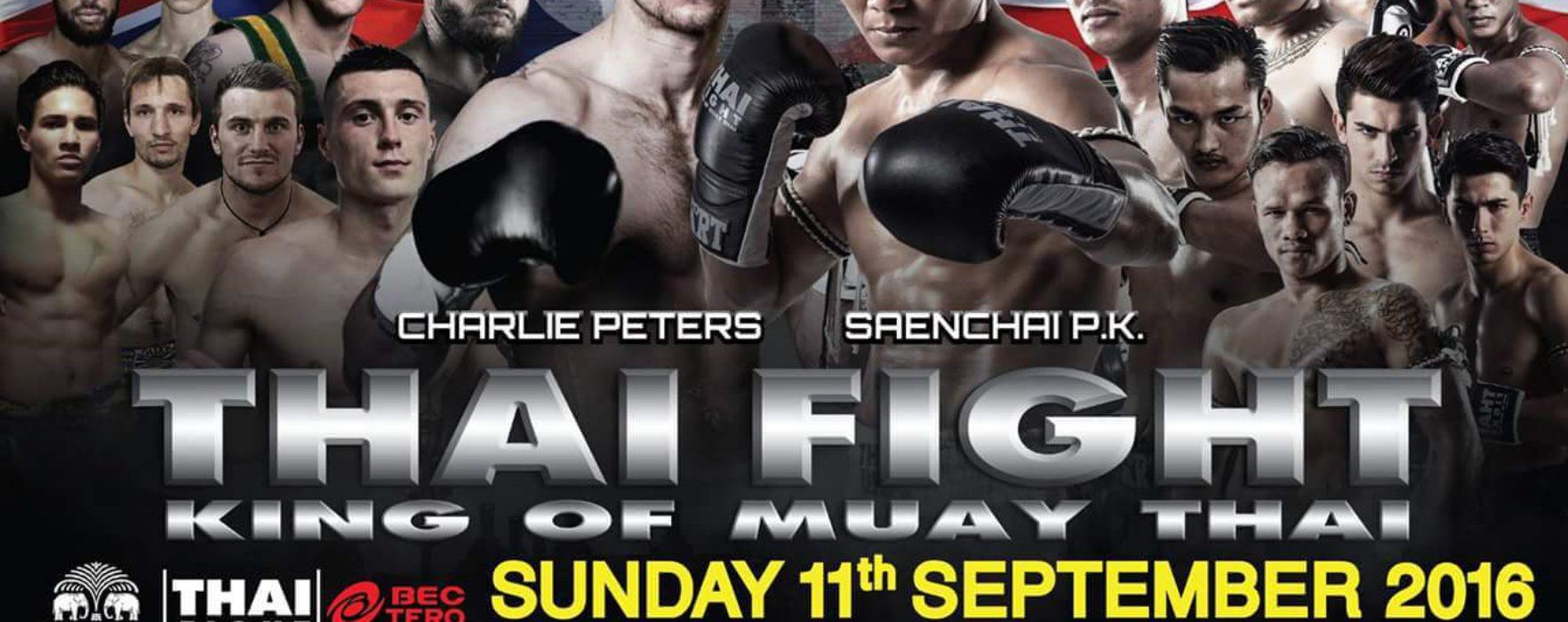 Results & Videos: Thai Fight London – Saenchai vs Peters, Sayok vs Hodge – September 11th 2016