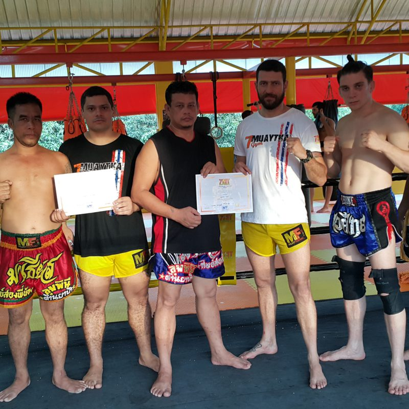 "7 Muay Thai first ""Inter trainers"" course concluded"
