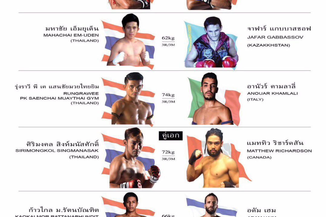 (Update) Flash News: Muay Xtreme – Muay Thai with MMA gloves
