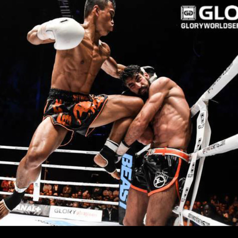 Results & Video: Weight-class switching and other interesting match-ups at Glory – Sittichai, Thongchai, Van Roosmalen, Salvador etc.