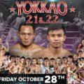 Card: Yokkao 21&22 – Saenchai, Petchmorakot, Topic, Hlali, etc. – 28/10/16
