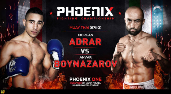 Anvar vs Adrar Phoenix ONE