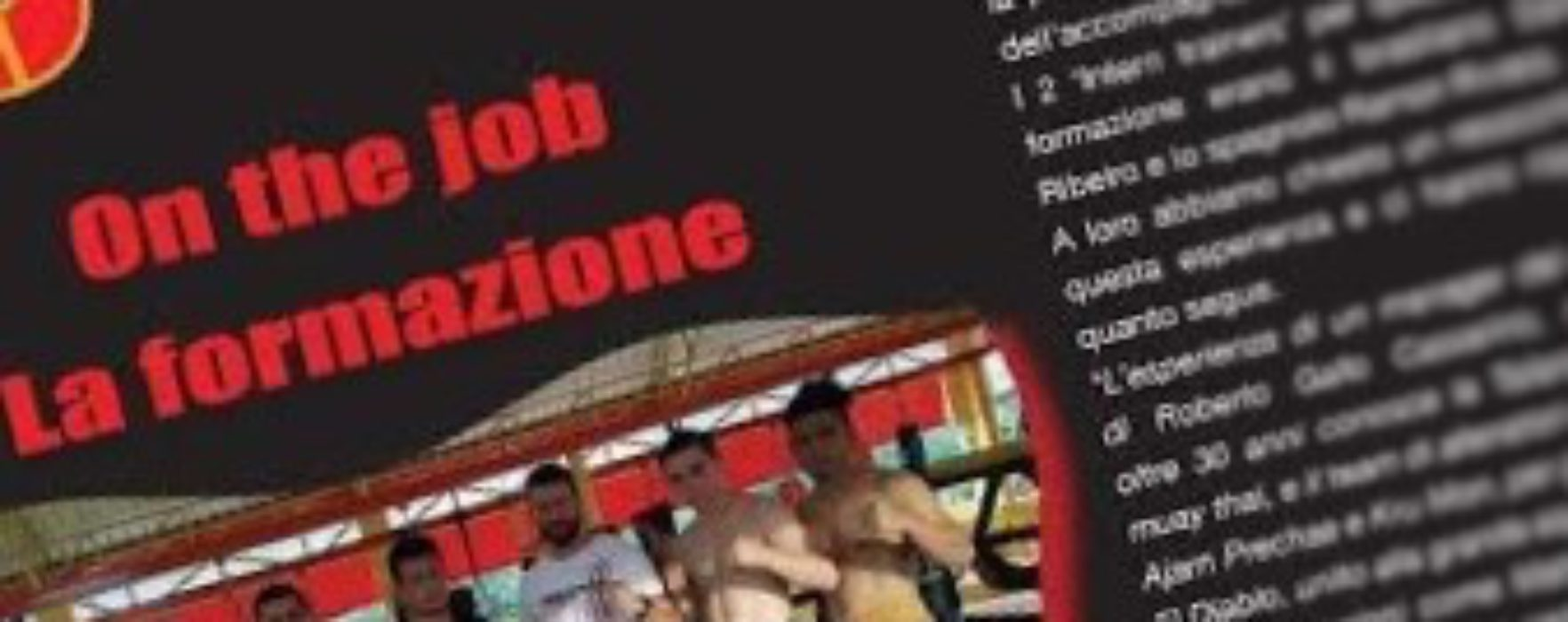 "Courses for Muay Thai trainers in Thailand on italian magazine ""Samurai"" (November)"