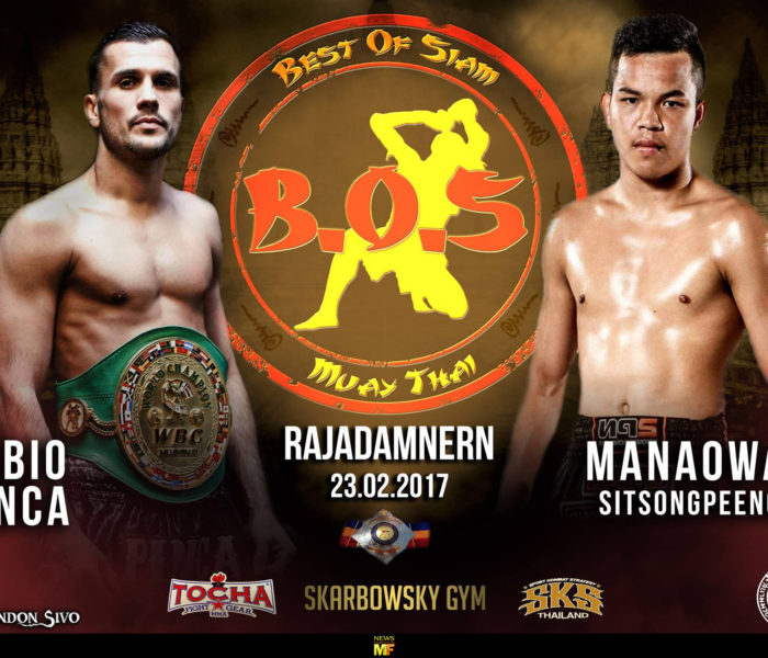 Card: Best of Siam 10 – Pinca, Vienot, Steve Banks and many more. – 13/02/17