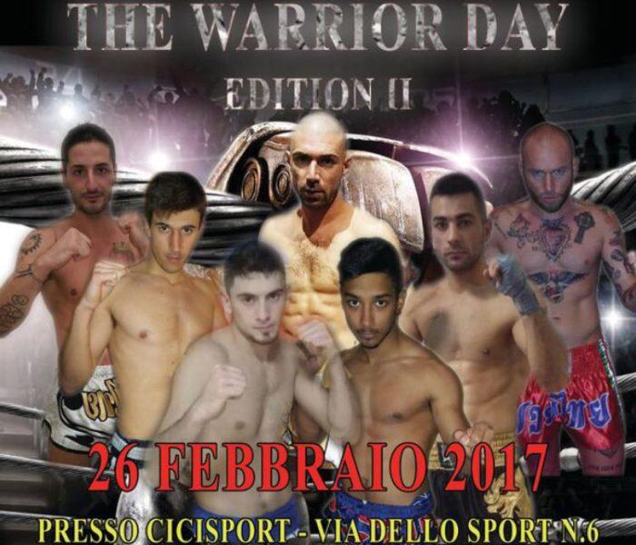 """(Italiano) """"The Warrior Day"""" il 26 Febbraio ad Arese"""