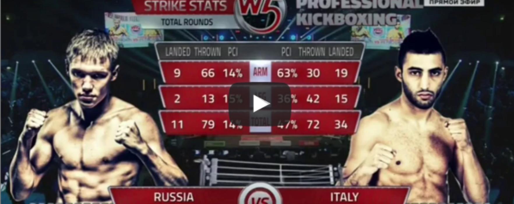 VIDEO Giorgio Petrosyan vs Artem Pashporin – W5