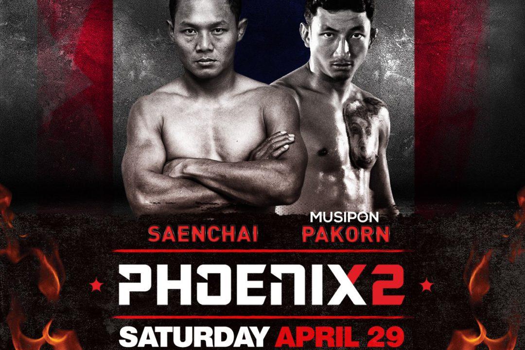 Card: Saenchai, Pakorn, Hlali e altri – Phoenix 2 – 29 April 2017