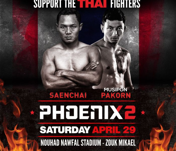 Card: Saenchai, Pakorn, Hlali & more – Phoenix 2 – 29 April 2017