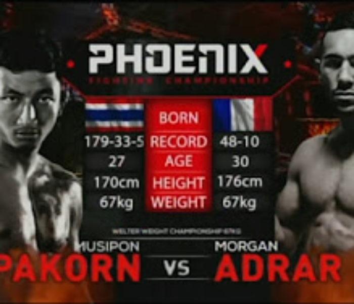 Video: Saenchai vs Hlali & Pakorn vs Adrar – Phoenix 2