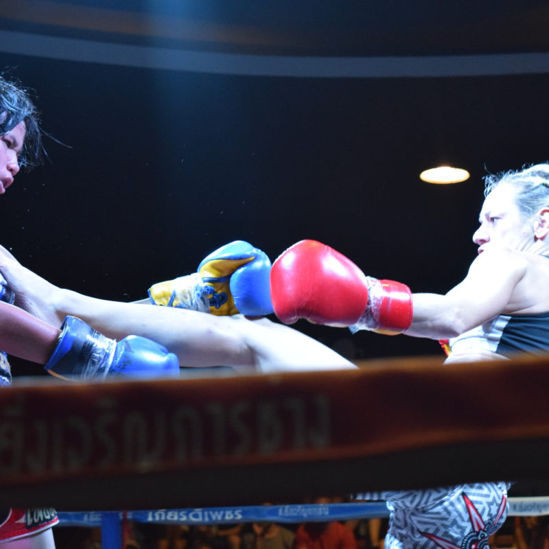 Silvia La Notte, champion in Chiang Mai, signs with Lion Fight
