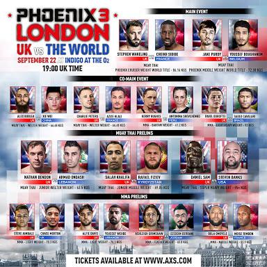 Phoenix 3 London card