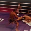 (English) Video: Allazov down , gets the split decision WIN against Manhoef