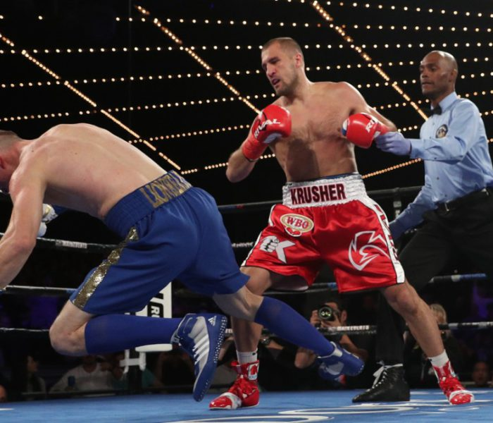 (English) Western boxing: Kovalev comes back destroying Shabranskyy (highlights)